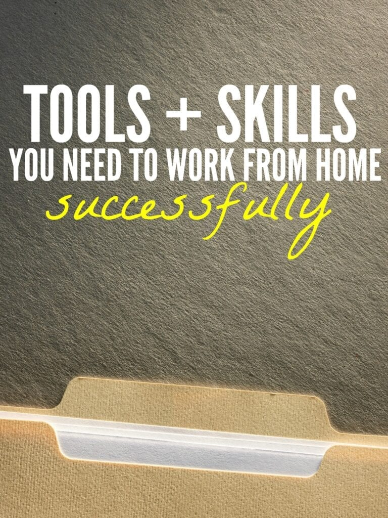 If you want to get started working from home these are the basic skills and tools you need to set yourself up for success.