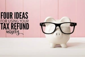 Before you think about blowing your money on a new TV or wardrobe use your tax refund to get ahead financially. Here's how.