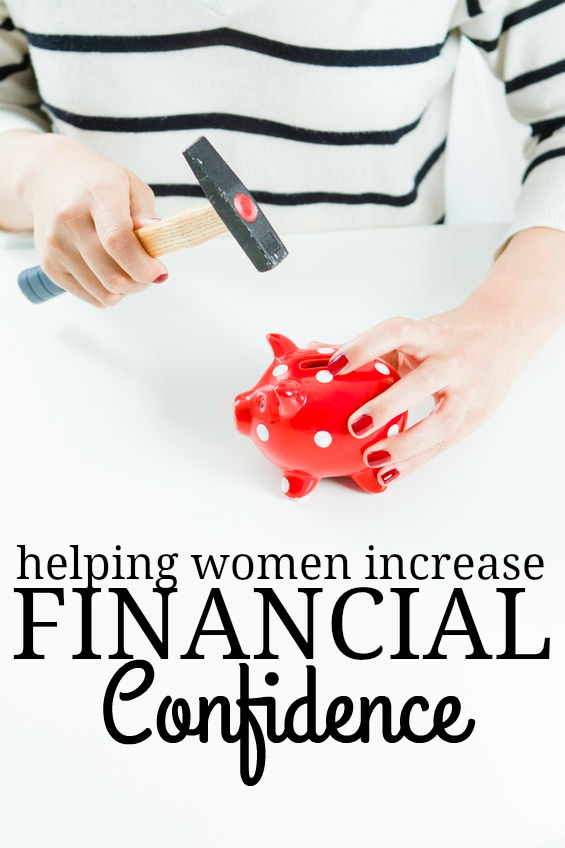Women still lag behind men in the financial confidence area. In honor of women's history months we've come up with some ways you can help women increase financial confidence.