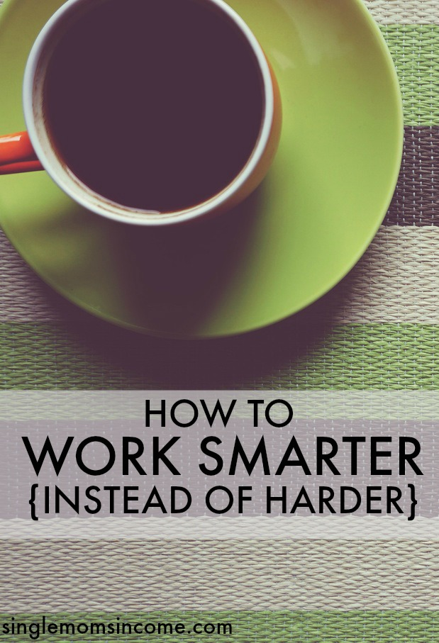 Working smarter can help you improve your life and finances in so many ways. Stop spinning your wheels and try these tips for working smarter instead of harder.