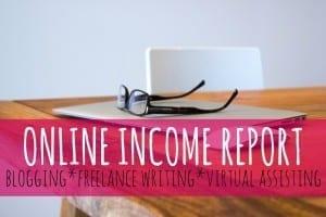 April 2016 Income Report