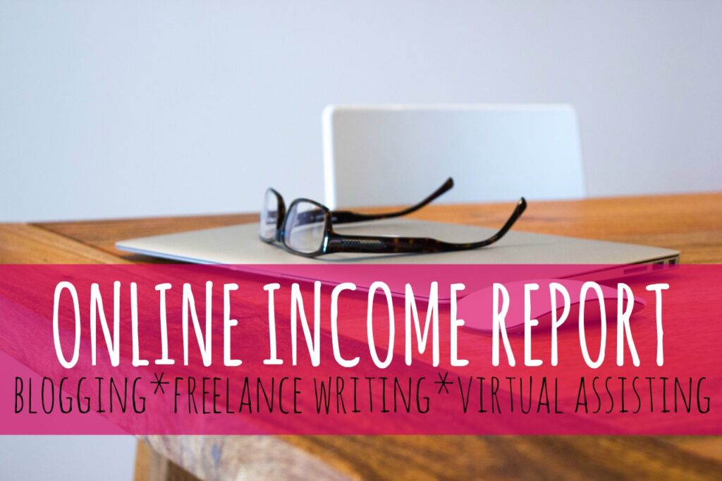 June 2016 Online Income Report