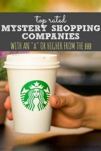 "6 Top Rated Mystery Shopping Companies with an ""A"" Rating from the BBB"
