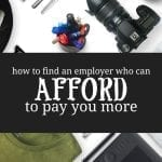 How to Find Employers Who Can Afford to Pay you More