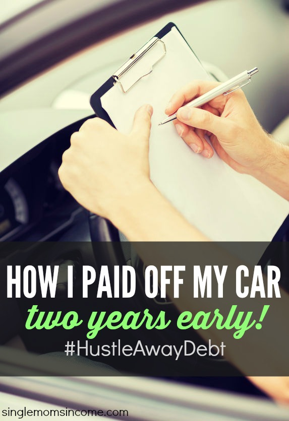 Auto loan debt is a big problem in the US with the average borrower owing over $27k! Here's how I paid off my car in two years and how you can, too!