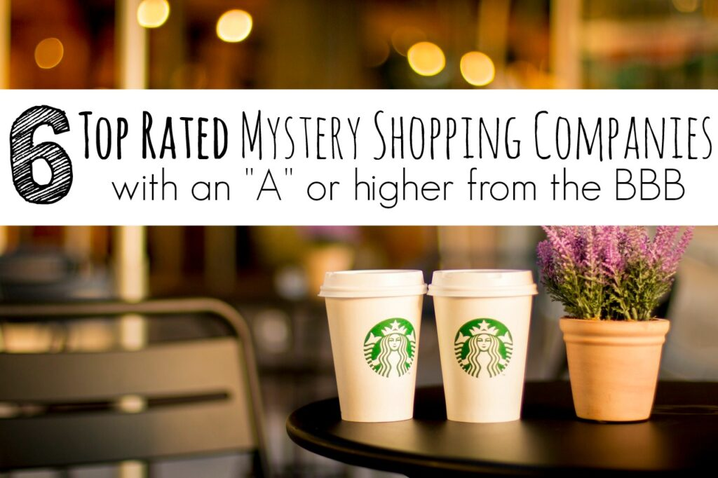6 top rated mystery shopping companies with an a rating