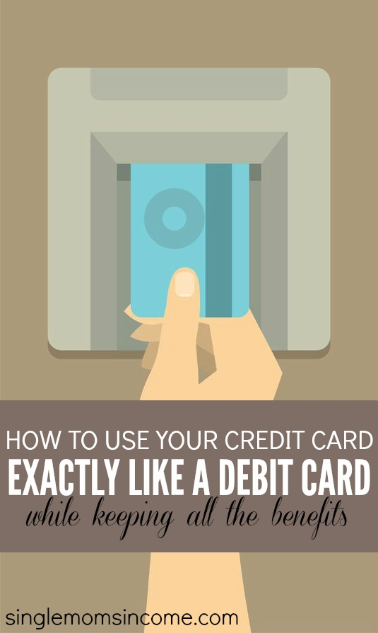 Debitize has created a free way for you to use your credit cards EXACTLY like a debit card. Here's everything you need to know.