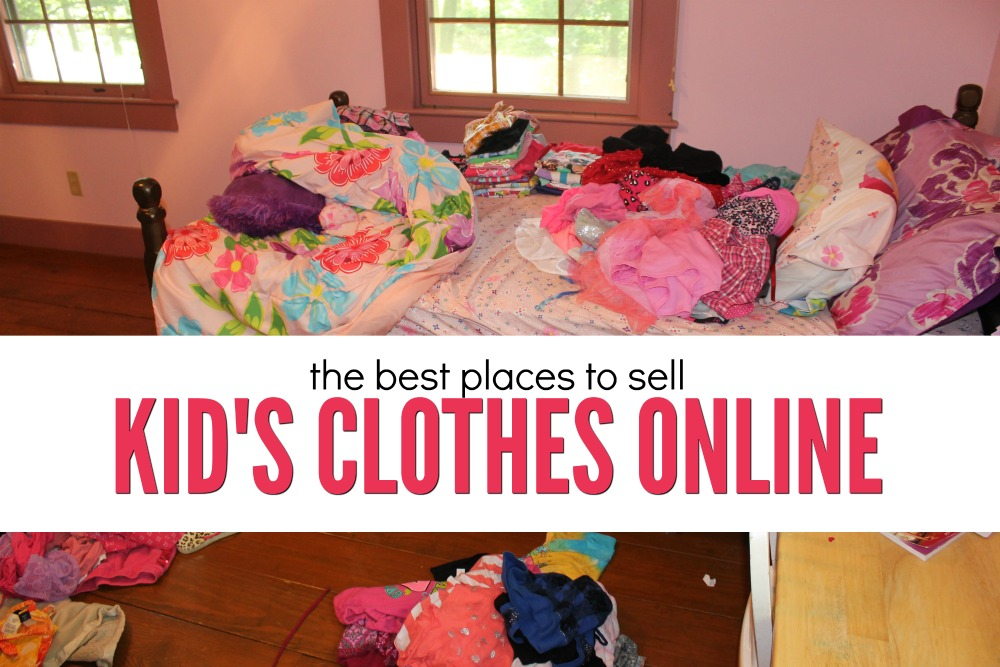 My Favorite Places to Sell Kids Clothes Online - Single Moms Income