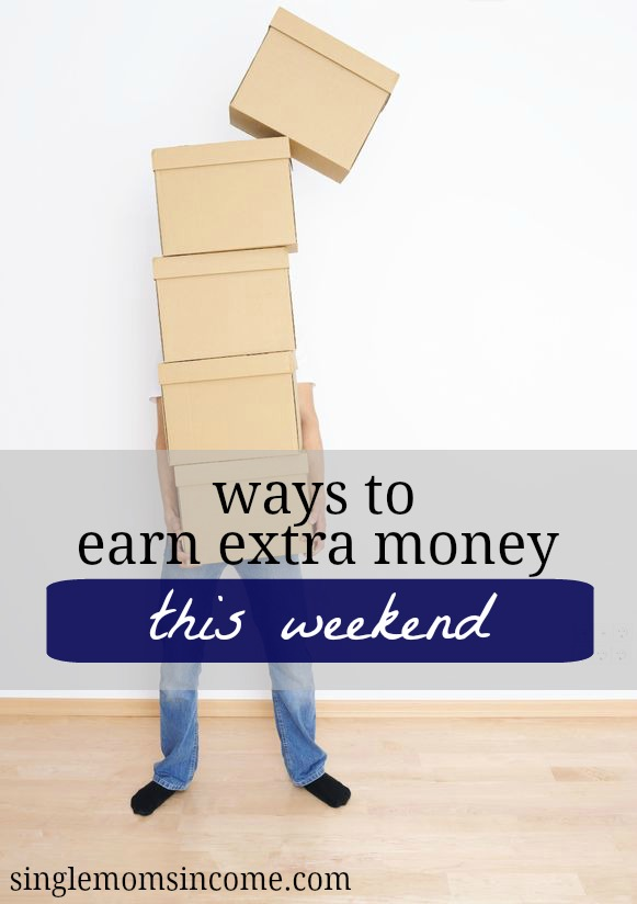Here are some simple and creative ways to earn some extra money this weekend and you can even get your family and friends involved.