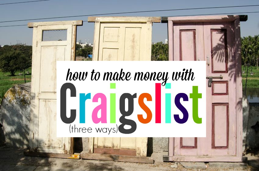 Most of the jobs I've had (including my current full-time job) were found via Craigslist. If you know how to use the site correctly, you can be well on your way to earning extra money or landing a new job too. Here are three legit ways to earn money with Craigslist.