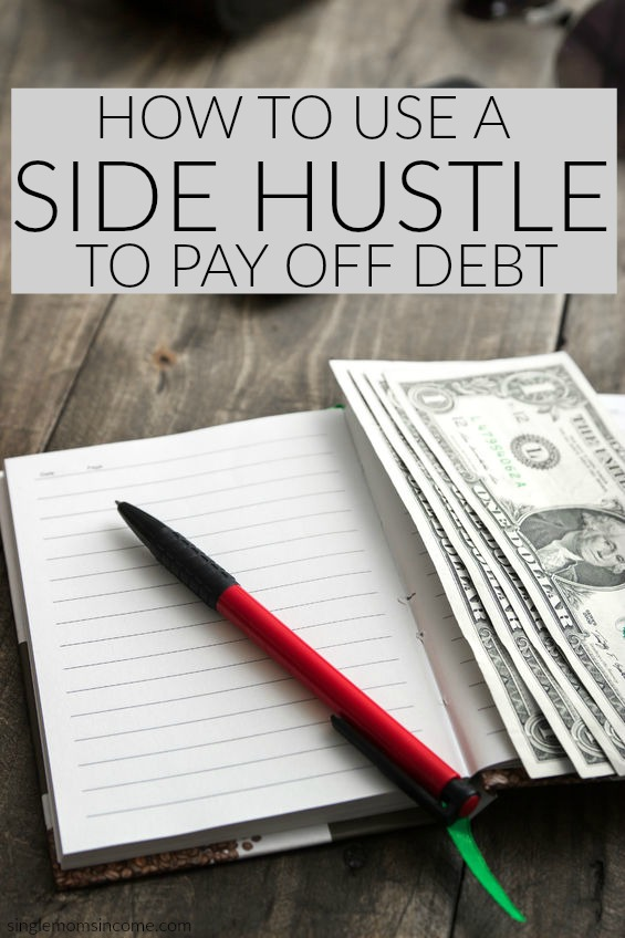 If you have debt and you found a side hustle or a way to boost your income that you like, you may be wondering exactly how you can use the extra money you're earning to make progress on your debt repayment.