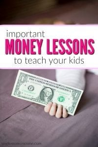 Important Money Lessons You'll Want to Teach Your Kids