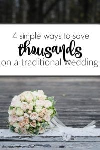 4 Simple Ways to Afford Your Traditional Wedding