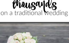 You don't have to spend $30k to have an amazing wedding. With these four methods you can afford your traditional wedding without a problem!