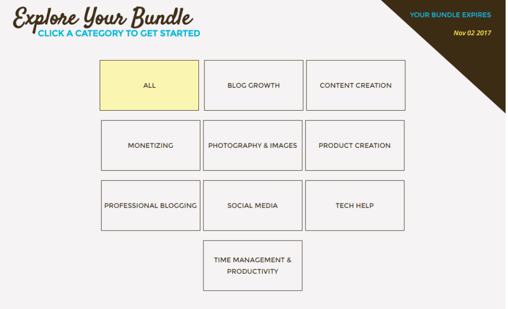 The Genius Bloggers Bundle