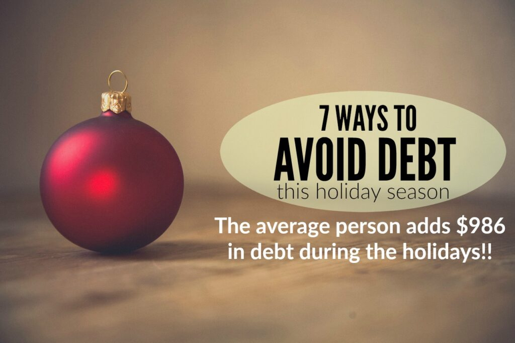 7 Ways to Avoid Getting Into Debt