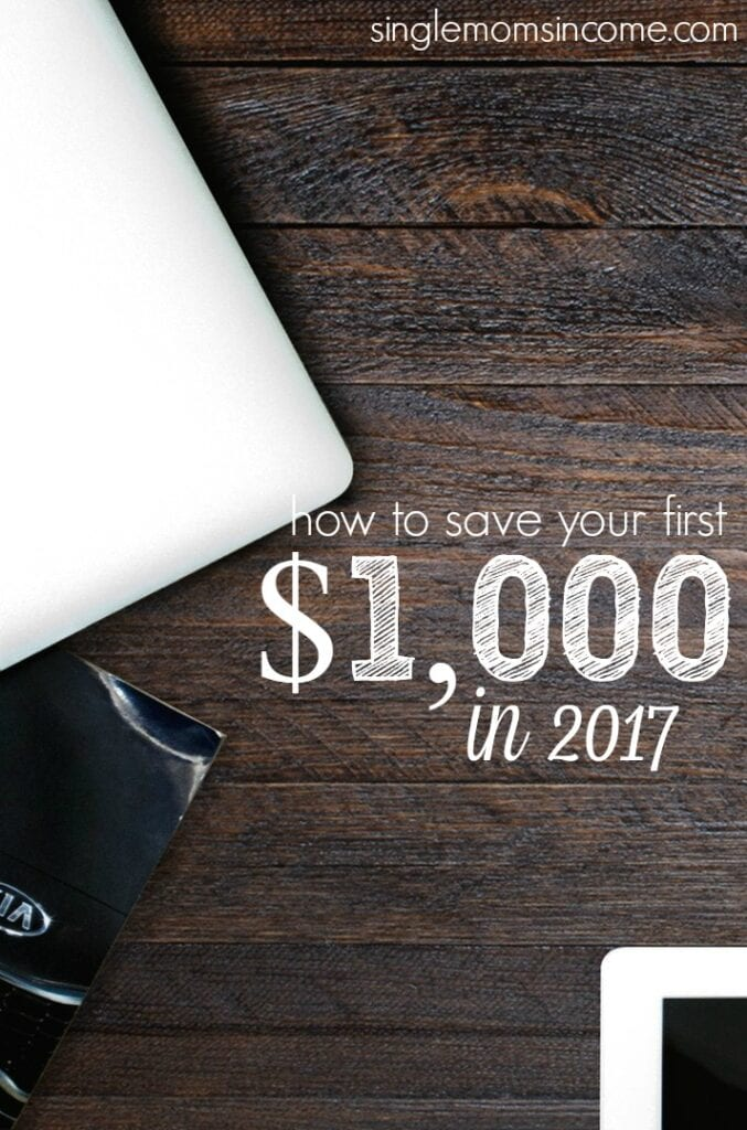 Ready to stop living paycheck to paycheck and become more financially secure? A new year is right around the corner, and if you haven't saved your first $1,000 yet there's no better time to get started.