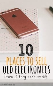 10 Places to Sell Old Electronics (Even if They Don't Work)