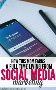 How This Mom Earns a Full-Time Income From Social Media Marketing