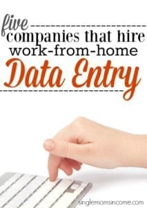 Get Paid to Type With These Work-From-Home Data Entry Jobs