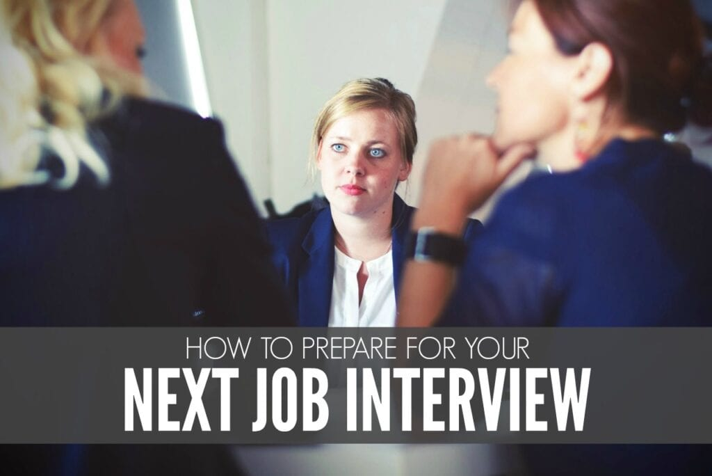 How To Prepare For Your Next Job Interview - Single Moms ...