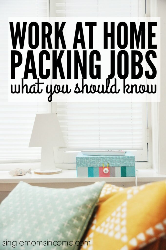 work at home packing jobs are they real single moms income. Black Bedroom Furniture Sets. Home Design Ideas