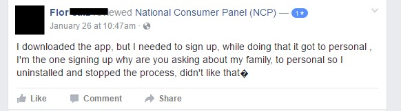 User review of National Consumer Panel