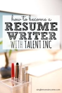 If you're looking for freelance writing positions becoming a resume writer  with Talent Inc