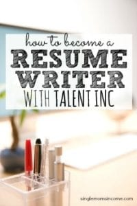 How to Become a Resume Writer with Talent Inc.