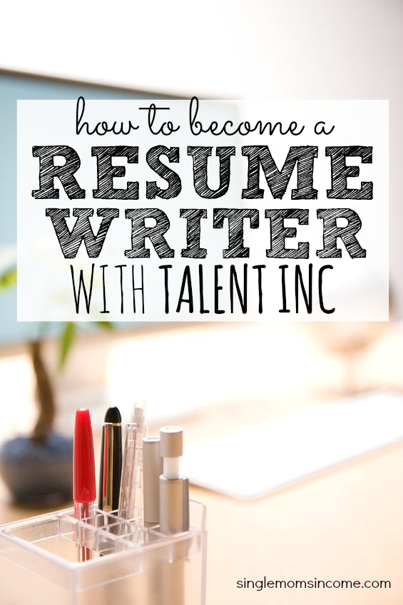 salary for resume writer at talent inc