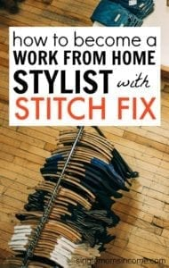 How to Become a Work From Home Stylist with Stitch Fix