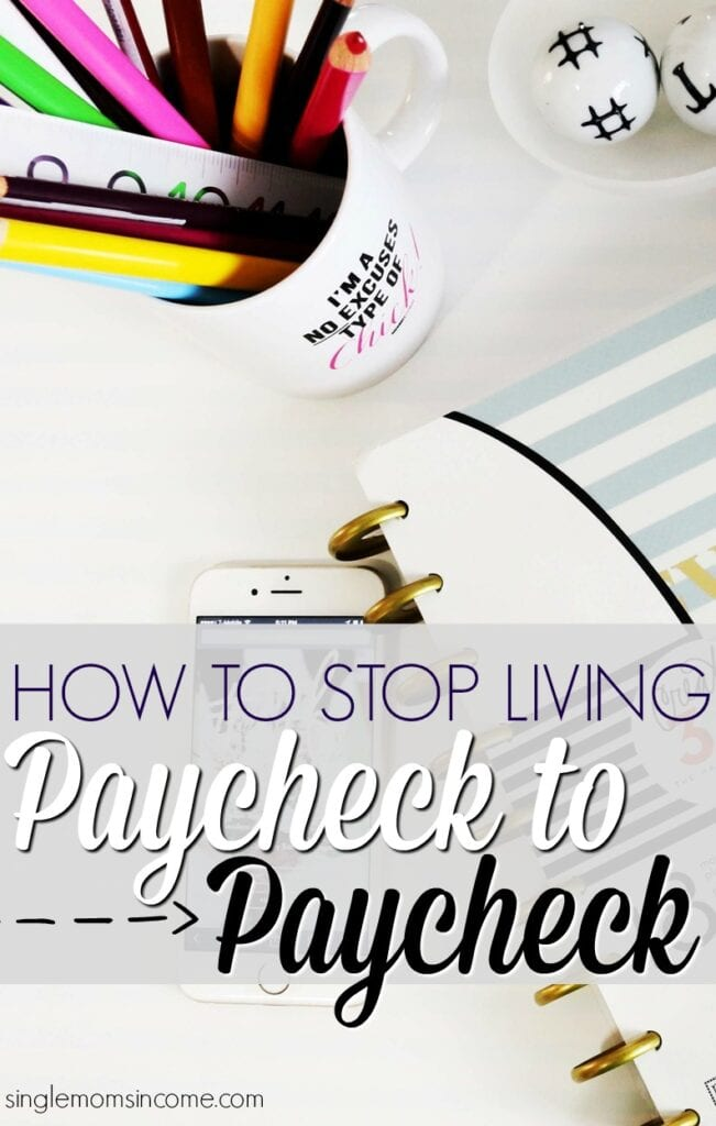 Improving your financial situation isn't easy or fast but it is possible. Here's how to stop living paycheck to paycheck this year.