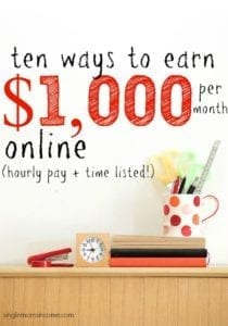 10 Ways to Earn $1,000 Per Month from Home