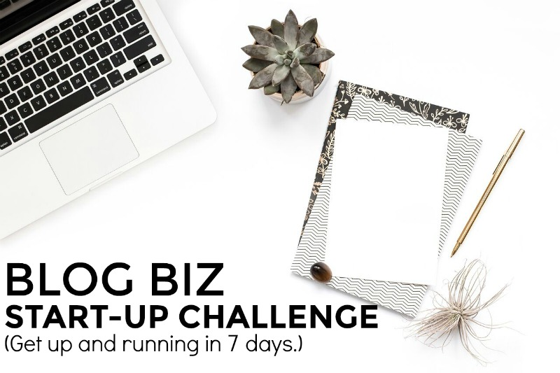 Free email challenge to get a blog set up in seven days.