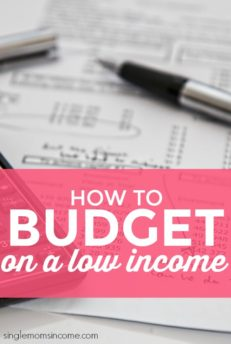 How to Budget On a Low Income