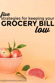 Food is a big expense at $700+ per month. If you're looking to reduce your food spending and keep your grocery bill low, these simple strategies will help.