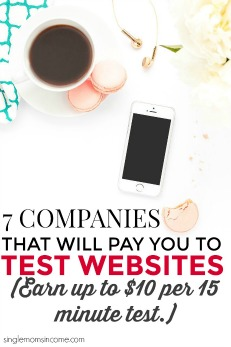 Make Money Testing Websites – 7 Companies That Pay