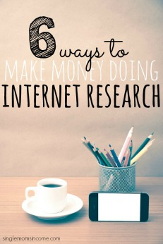 Make Money Doing Internet Research – 6 Ways to Get Paid