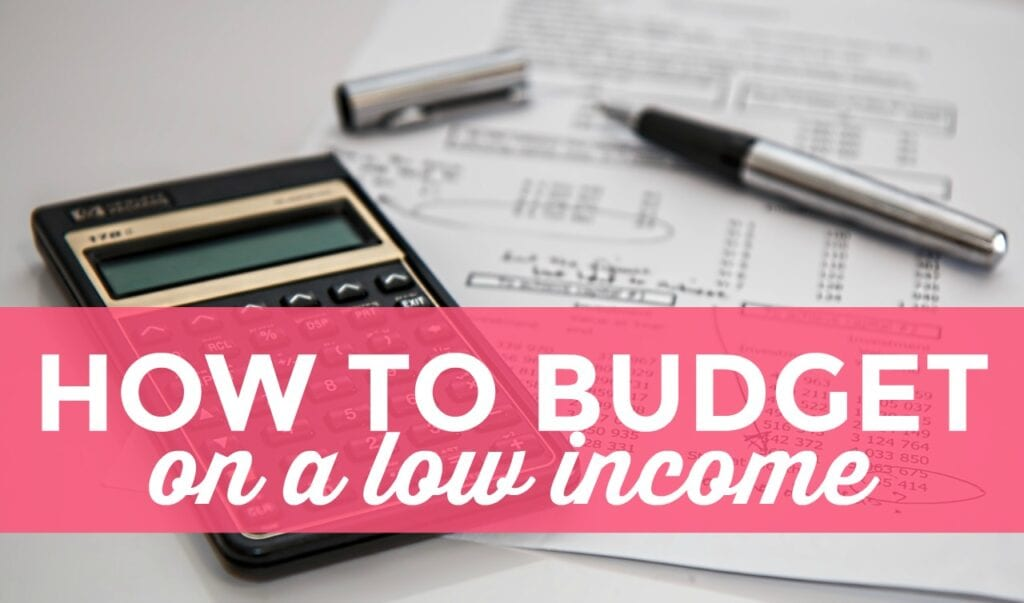 how to budget on a low income single moms income