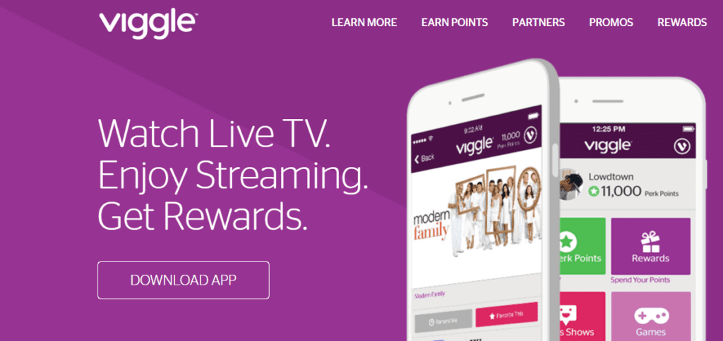 Make money watching TV with Viggle.