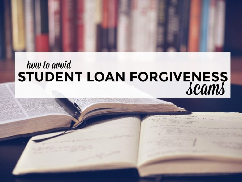 Know the warning signs that a company isn't what it appears to be. Here's how to avoid student loan forgiveness scams altogether.