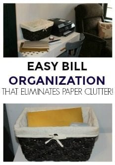 My Bill Filing System that Eliminates Paper Clutter!