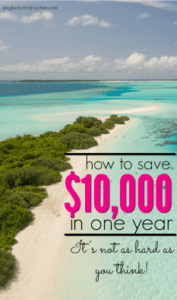 If you need or want to save up a lot of money don't feel discouraged. Here's how to save $10,000 in one year if you're starting from zero.