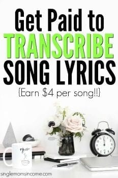 Get Paid to Transcribe Song Lyrics with Welocalize (Now Hiring!!)