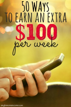 50 Ways to Earn an Extra $100 Per Week