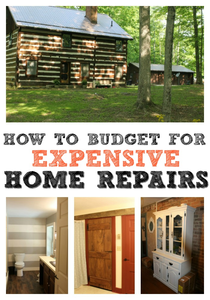 Budgeting for large home repairs isn't always easy. Here are the ways my family does it without taking on any types of debt.