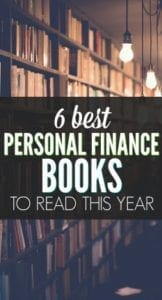 My Top 6 Favorite Personal Finance Books