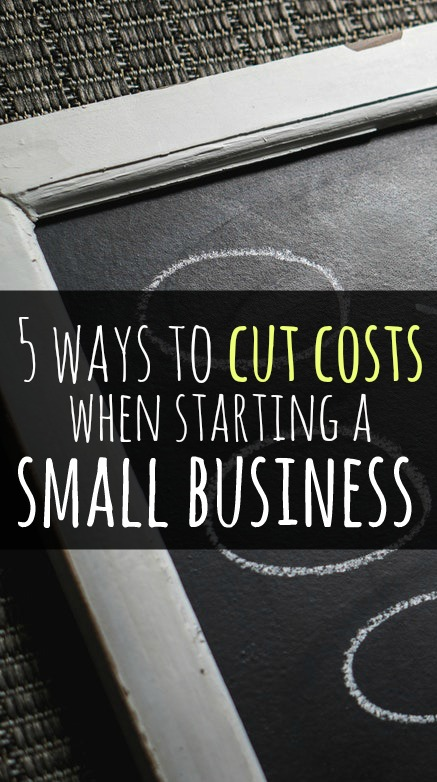 When starting a business, it's important to think of cost-effective ways to build your business and grow your profits. Here are five ways to cut costs when starting a small business.