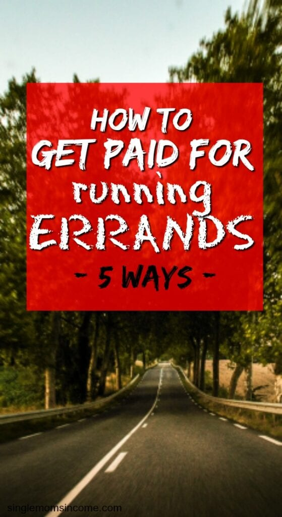 How to get paid for running errands. Side hustle ideas | work from home jobs