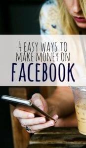 4 Easy Ways to Make Money on Facebook